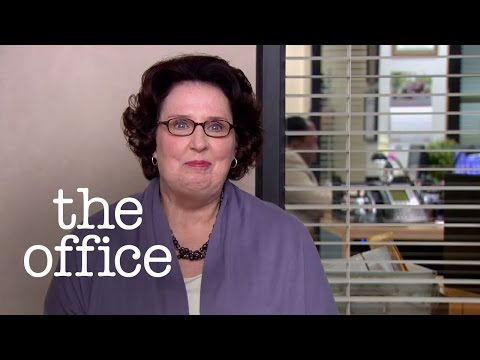 Phyllis' Clichés  for a Rainy Day - The Office US