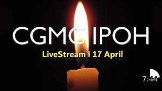 LiveStream - Saturday 17th April @ 8:00 pm