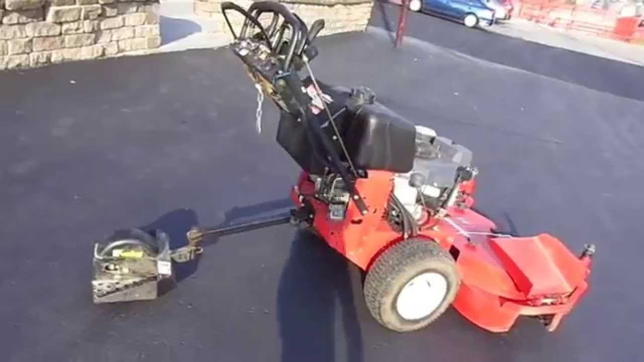 48` Snapper Walk Behind Sulky Zero Turn Lawn Mower with 15 HP Kawasaki  Engine
