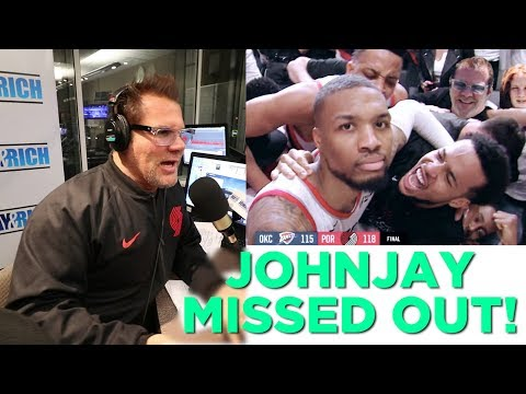 In-Studio Videos - Johnjay Missed The Game of The Century!