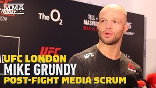 UFC London: Mike Grundy Reveals He Fought UFC Debut With ACL Tear - MMA Fighting