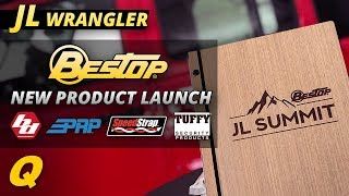 New Jeep Wrangler JL Products from Bestop, Baja Designs, Tuffy Security, PRP Seats and SpeedStrap