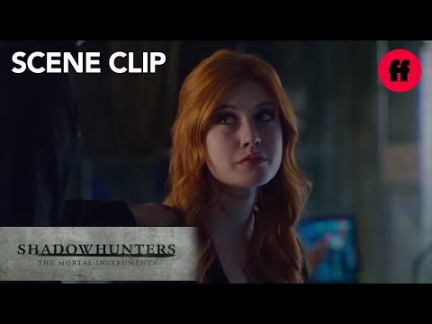 Shadowhunters | Season 1, Episode 13 Clip: Simon and Clary | Freeform