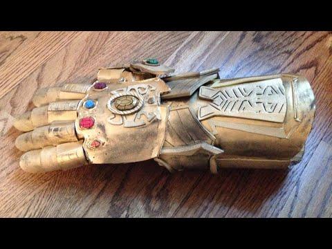 DIY Infinity Gauntlet CARDBOARD!!!
