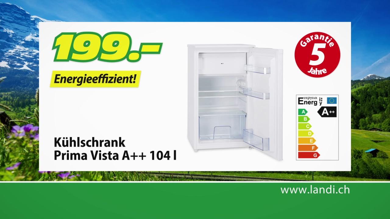 LANDI Tiefpreis HIT   Kühlschrank Prima Vista A++ 104 L / Vakuumiergerät  Prima Vista 110 W