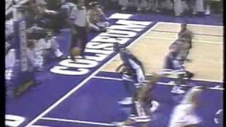 1996 Cal Basketball defeats Arizona 99-75 at Oakland Coliseum