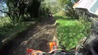 2 bikes - 2 quads - THE CRASH!