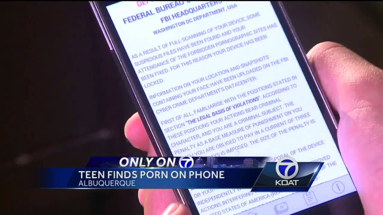 Authorities warn of child porn phone virus