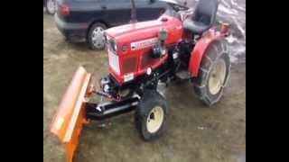 yanmar iseki kubota pług czołowy spych maszyny rolnicze 2013