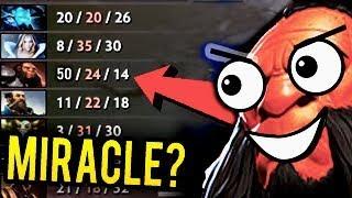 This Guy Like Miracle 50 Kills Axe WTF Game Dota 2