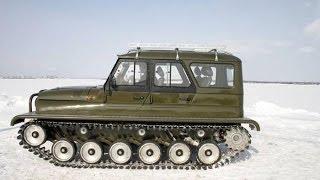 УАЗ на гусеничном ходу Ухтыш / UAZ crawler Uhtysh   #вездеходы