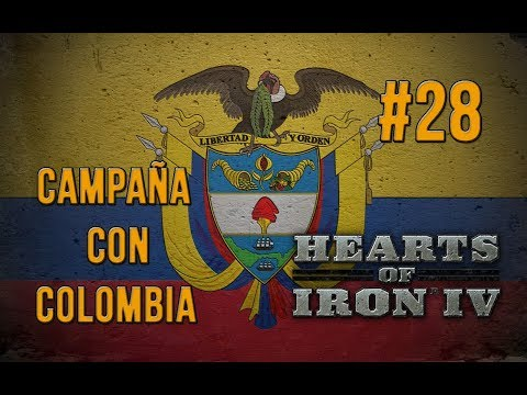"HEARTS OF IRON IV |  COLOMBIA #28 ""Avanzar y ceder"""