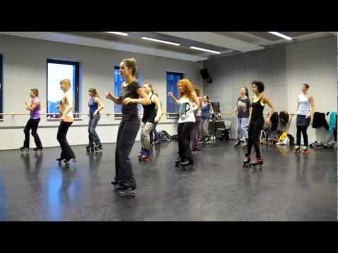 Roller dance gathering