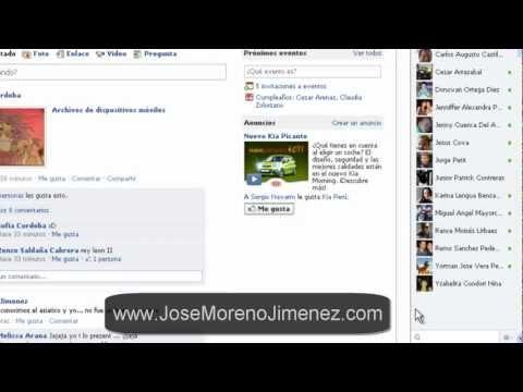 CURSO DE FACEBOOK: COMO UTILIZAR EL NUEVO CHAT DE FACEBOOK (PC PANTALLA GRANDE)