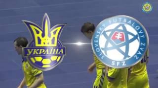 Україна - Словаччина. Футзал. Плей-офф ЧМ-2016   Ukraine - Slovakia. WC 2016 Play off