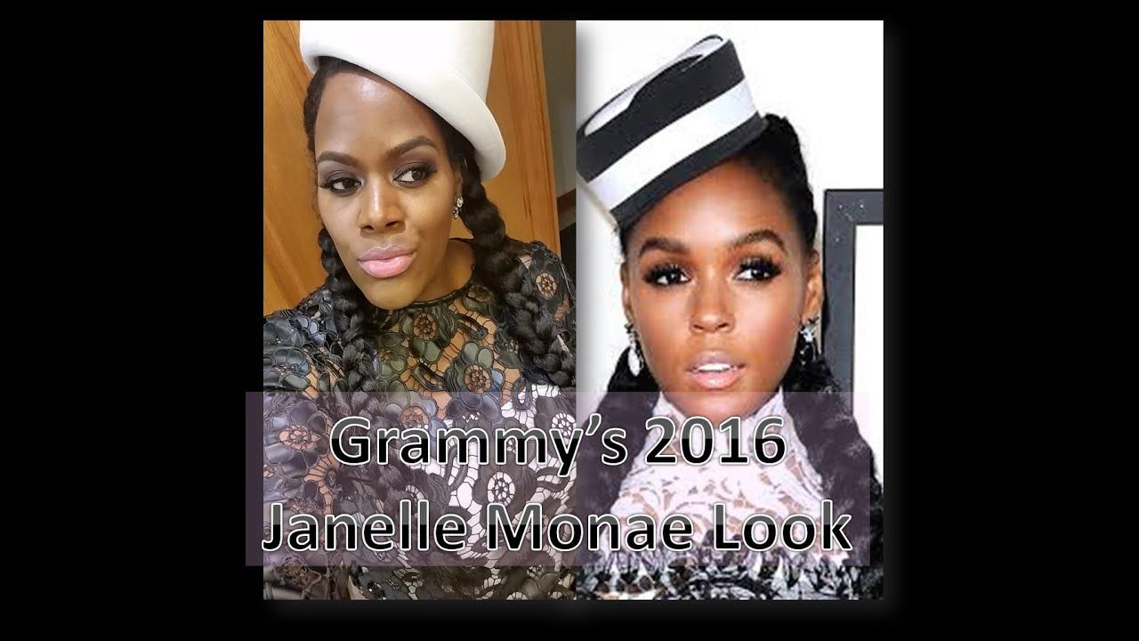 Janelle monae no makeup