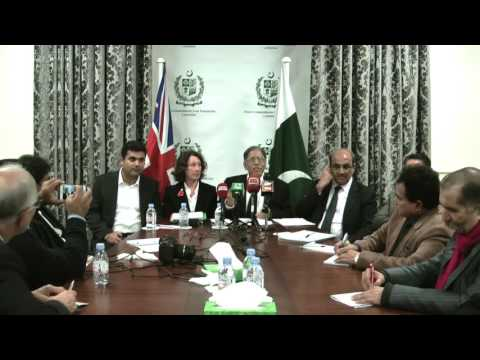 London Press Conference of Zulfiqar Ali Bhutto University of Law Karachi