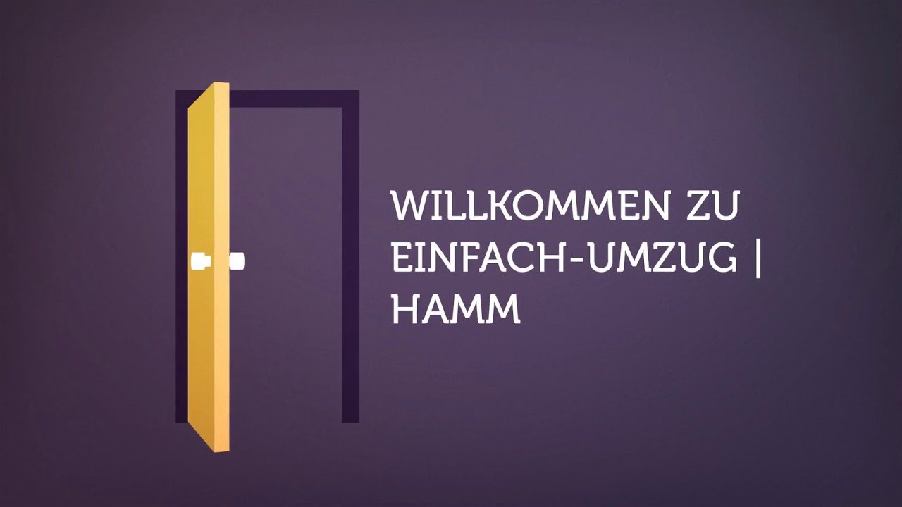 Einfach-Umzug Transportunternehmen im Hamm