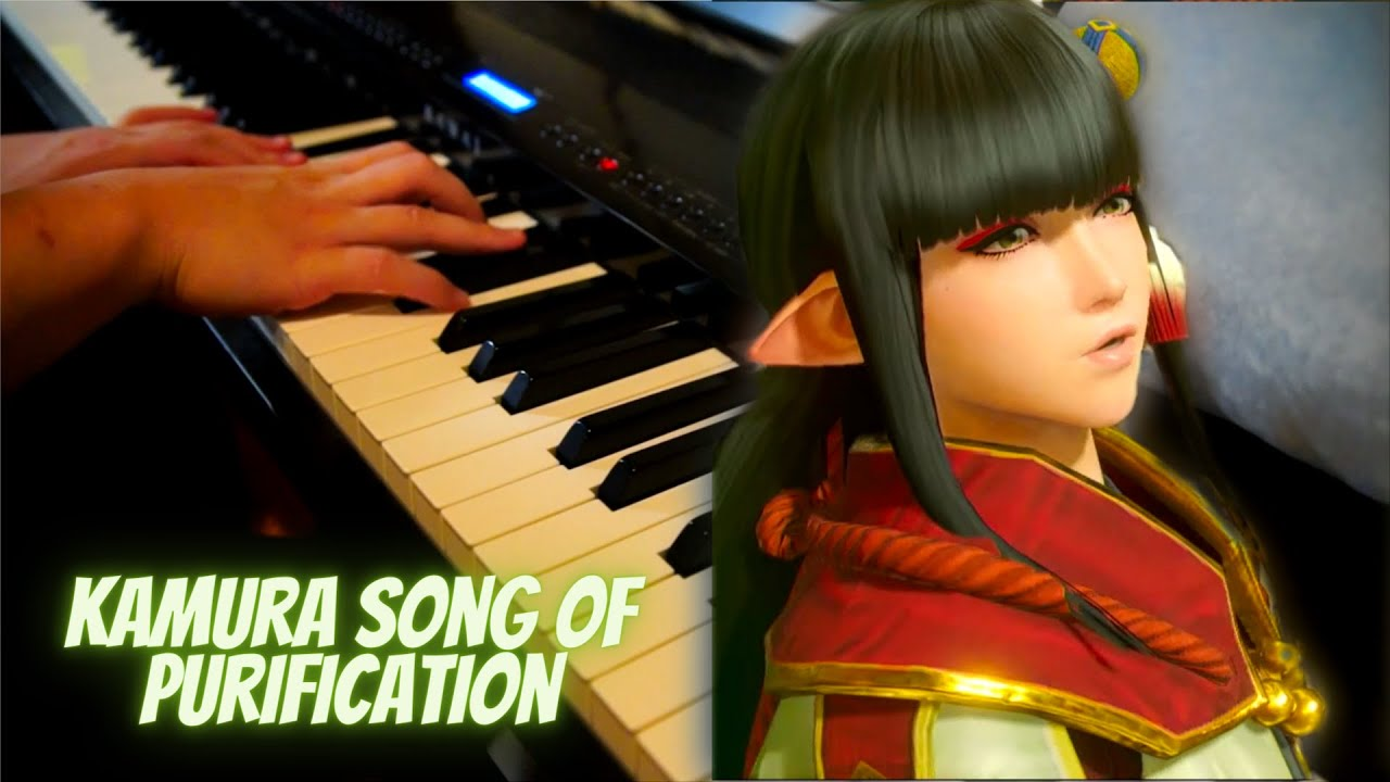Monster Hunter Rise - Kamura's Song of Purification [Piano]