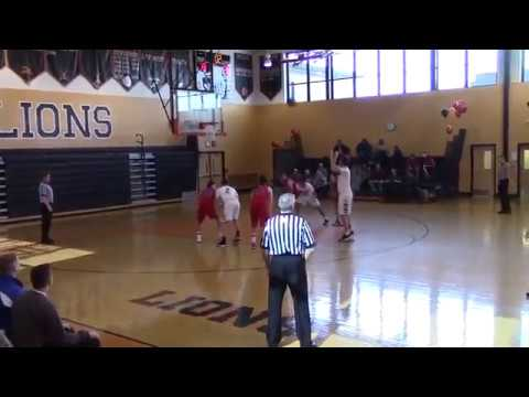 Wall Boys Basketball (62) At Middletown North (45), 2/28/15