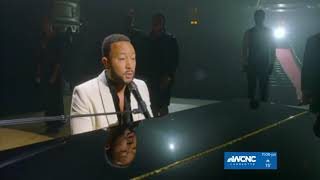 """John Legend closes DNC with his song """"Never Break"""""""