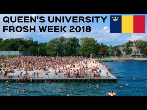 QUEEN'S UNIVERSITY FROSH WEEK 2018