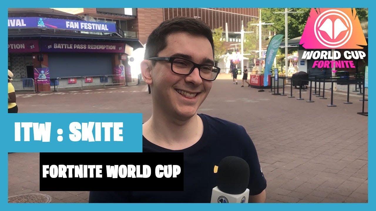 Fortnite World Cup : interview de Skite de LeStream Esport