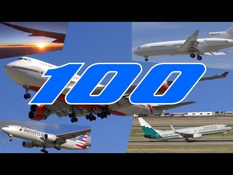 HD Aviation Music Video | 100 Years of Boeing Airplanes!!!