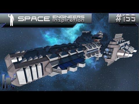 Space Engineers Inspiration - Episode 155: Qwlgeist, Zmora, & Fake Mining Corsair