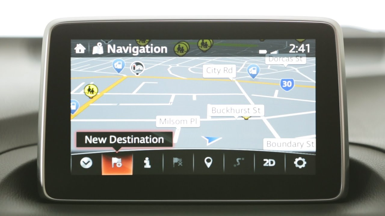 Mazda Mzd Connect Apps >> How To use Satellite Navigation (MZD Connect) - YouTube