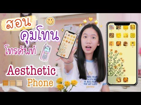สอนคุมโทนโทรศัพท์ เปลี่ยนสีไอคอนแอพใน iPhone ง่ายๆ Aesthetic Phone [Nonny.com]