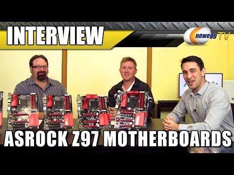 ASRock Z97 Series Motherboards Interview - Newegg TV