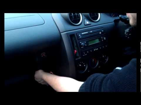 Radio Removal Ford Fiesta Triple Dash (2002  2008)   JustAudioTips  YouTube