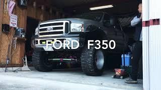 FORD F350 V8ターボディーゼル 冷間始動