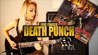 FIVE FINGER DEATH PUNCH - Lift Me Up (cover)