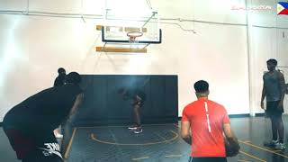 Kai Sotto kalaban niya Top 1 Center NBA mock draft 2021 na si Evan Mobley workout.