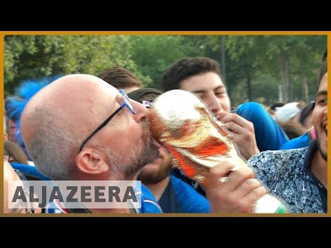 🇫🇷 France beat Croatia to win World Cup 2018 | Al Jazeera English