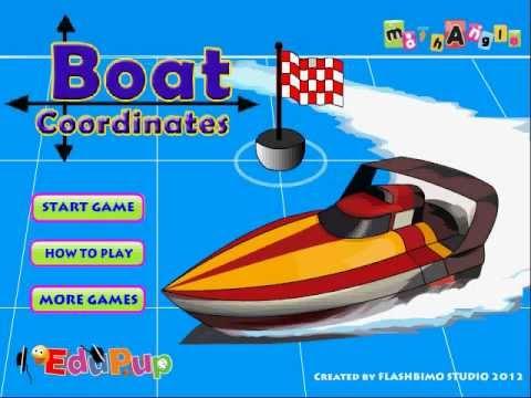 Boat Coordinates Game Tutorial