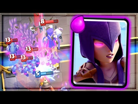 Clash Royale - WITCH IS INSANE! OP Spam Deck