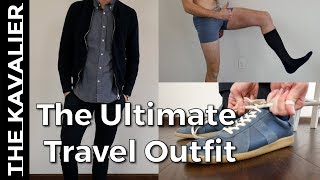 My 50+ Hour Travel Outfit - Travel With Style and Functionality
