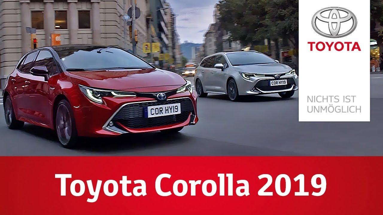 Toyota Corolla 2019 Eine Neue Ara Fur Hybrid Imagefilm Youtube