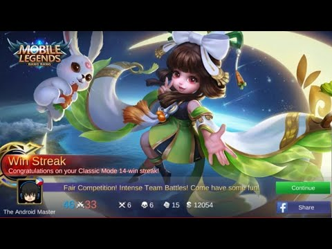"NEW HERO CHANG""E LIVE 15 MATCHES ALL WIN - MOBILE LEGENDS"