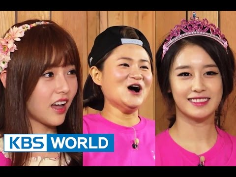Happy Together - Goddess Special with Jiyeon, Kim Shinyoung, Chun Yiseul & more! (2014.08.07)