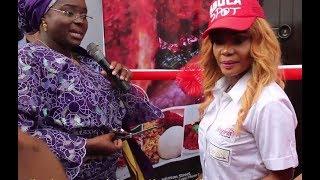 ist lady of kwara state opens iyabo ojo n200million abula spot at lekki phase 1 alongside her mother