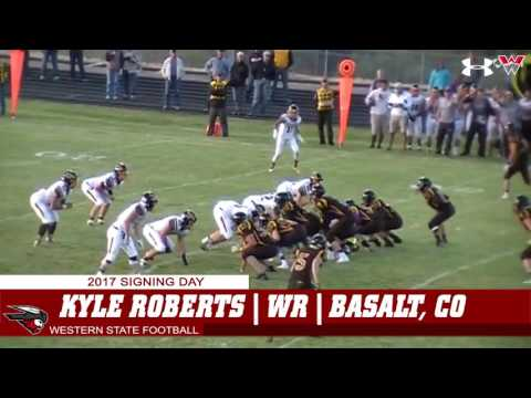 Western State Football | Kyle Roberts Highlights