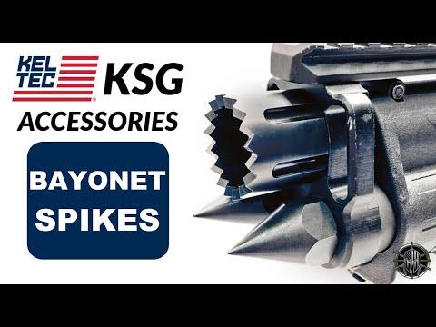 KEL TEC KSG Accessories - KSG Breacher Barrel Nut - KSG Spikes and SS Followers - M*CARBO