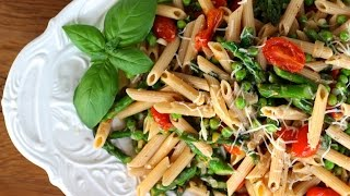 Dinner Recipe: Spring Pasta By Cookingforbimbos.com
