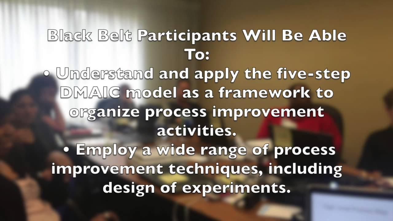 Six Sigma Black Belt Training Courses And Six Sigma Black Belt
