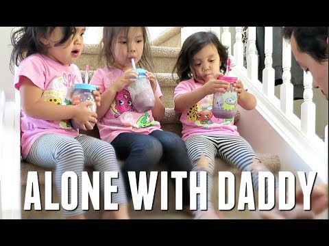 CAN HE HANDLE THE KIDS BY HIMSELF? - May 26, 2017 -  ItsJudysLife Vlogs