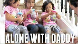 CAN HE HANDLE THE KIDS BY HIMSELF? - May 25, 2017 -  ItsJudysLife Vlogs